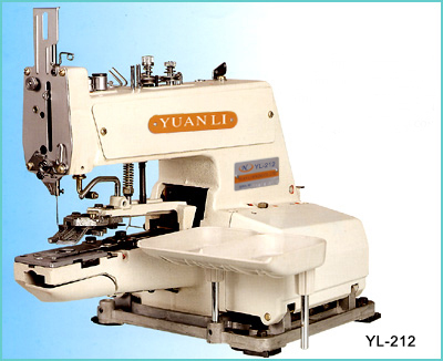YL-212 HIGH SPEED SINGLE THREAD CHAIN STITCH BUTTON SEWING MACHINE
