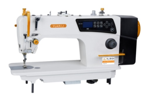 YL-20-D1 DIRECT DRIVE MOTOR AUTOMATIC CUTTING LOCKSTITCH SEWING MACHINE